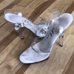 Ellie Clear heels